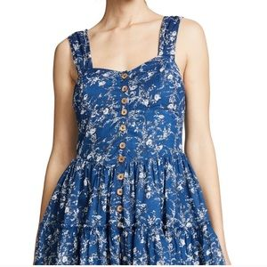 Free People | Dance on the Blacktop Floral Dress